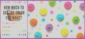 How to Get Out Food Coloring Awesome Stock Food Color Chart Plus 2 Great Recipes for White Frosting