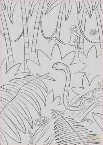 Jungle Printable Coloring Pages Luxury Images Jungle Scene Coloring Page