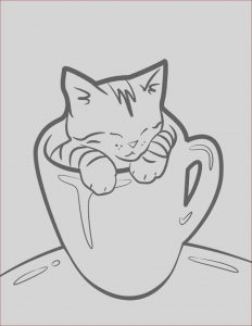 Kitty Cat Coloring Pages Luxury Collection Kitten Coloring Pages