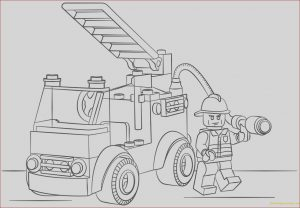 Lego City Coloring Pages Luxury Photos Lego City Fire Truck Coloring Page Free Coloring Pages