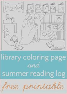 Library Coloring Pages Beautiful Gallery Library Coloring Page and Summer Reading Log
