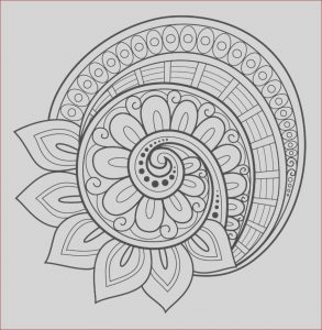 Mandalas Coloring for Adults Luxury Images Flower Mandala Coloring Page Free …