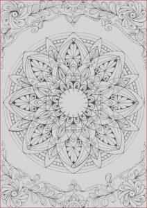 Mandalas Coloring for Adults New Gallery Mandala Printable Adult Coloring Page From Favoreads