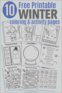 Online Coloring Games for toddlers Cool Gallery 10 Free Printable Winter Coloring & Activity Pages