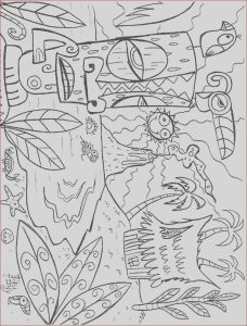 Online Coloring Pages Luxury Photos Luau Coloring Pages