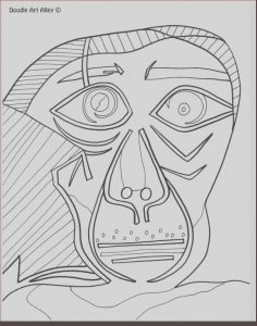 Pablo Picasso Coloring Pages Beautiful Collection Picasso Coloring Pages at Getcolorings