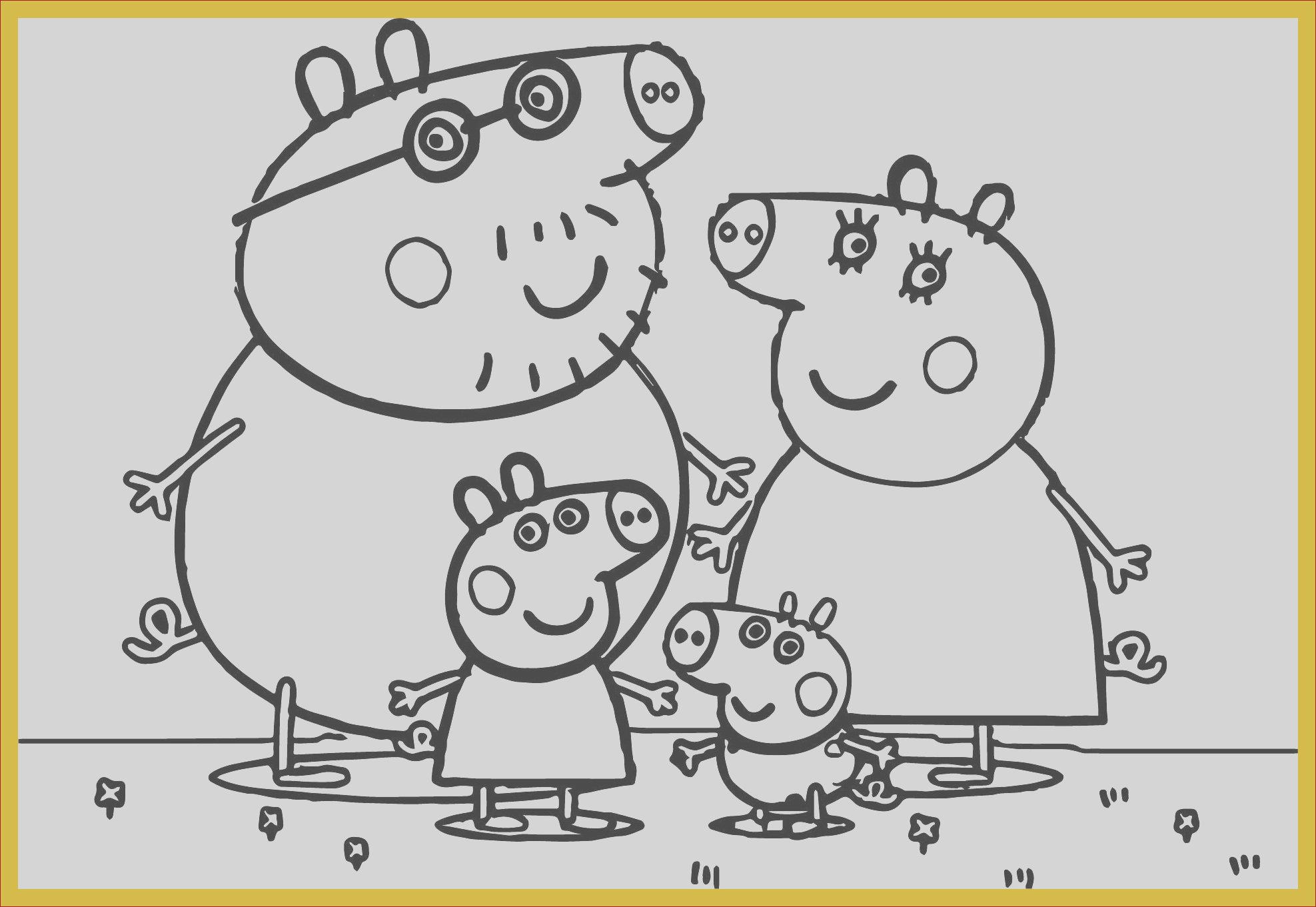 peppa pig coloring pages online