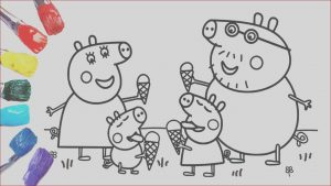 Peppa Pig Coloring Pages Online Luxury Photography Coloring Peppa Pig with Ice Cream [1080p]