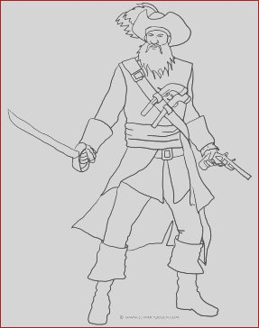 pirate coloring pages