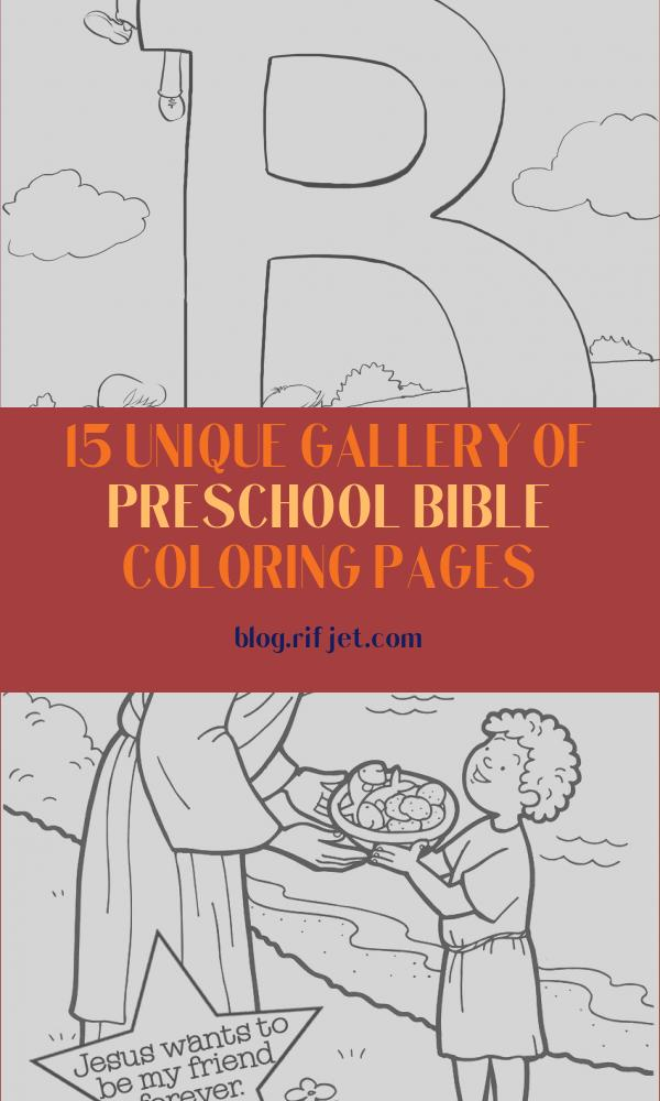 Preschool Bible Coloring Pages Inspirational Collection 13 Best Of Bible Worksheets for Preschoolers