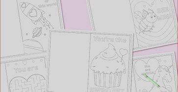 Printable Coloring Cards Inspirational Photos Printable Coloring Valentines Day Cards Messy Little Monster