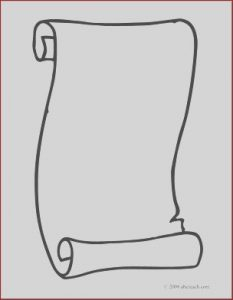 Scroll Coloring Page Beautiful Collection Clip Art Scroll 3 Coloring Page