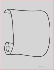 Scroll Coloring Page Beautiful Images Clip Art Scroll 1 Coloring Page I Abcteach