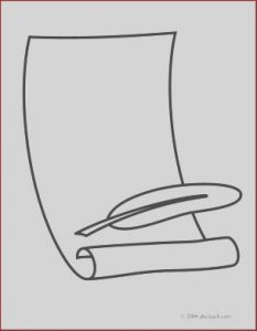 Scroll Coloring Page New Photography Banners Clipart Page 1