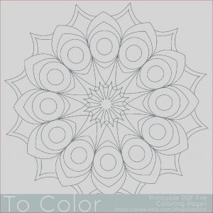 Simple Adult Coloring Pages New Photography Printable Circular Mandala Easy Coloring Pages for Adults Big