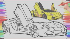 Sports Car Coloring Pages Elegant Collection How to Draw A Car Cars Coloring Pages