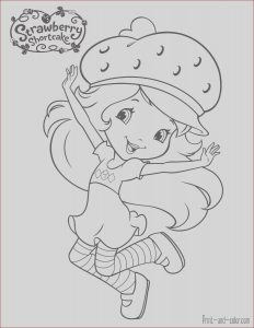 Strawberry Shortcake Coloring Page Inspirational Images Strawberry Shortcake Coloring Pages