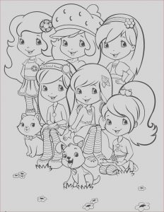 Strawberry Shortcake Coloring Page Unique Photography Strawberry Shortcake 50 Coloringcolor