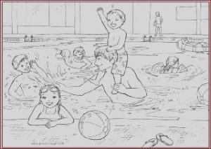 Swimming Pool Water Coloring Luxury Image Swimming Pool Colouring Page