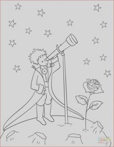 Telescope Coloring Page Best Of Collection Little Prince with Telescope Coloring Page