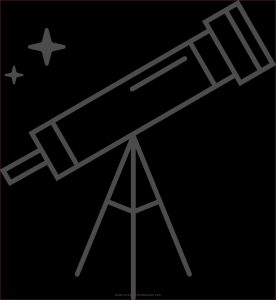 Telescope Coloring Page Unique Gallery Telescopes Colouring Pages Sketch Coloring Page