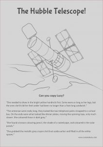 Telescope Coloring Page Unique Stock Free the Hubble Telescope Colour Page with Images