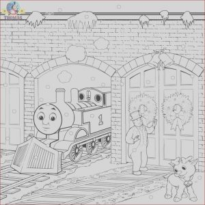 Thomas Coloring Pages Luxury Gallery Thomas Christmas Coloring Sheets for Children Printable