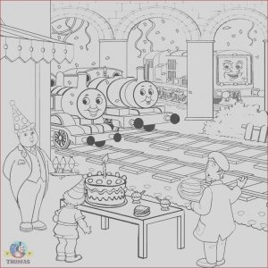 Thomas Coloring Pages Unique Images Thomas Coloring Pages to Print and Color Kids