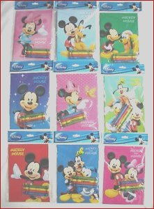 Wholesale Coloring Books and Crayons New Photos 12 Mickey Mouse Friend Coloring Books 48 Crayon Disney