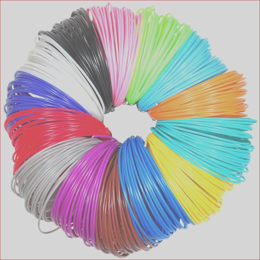 3d pen filament refills 1 75mm abs pla 20 different colors 2 glow in the dark for 3d printing pens