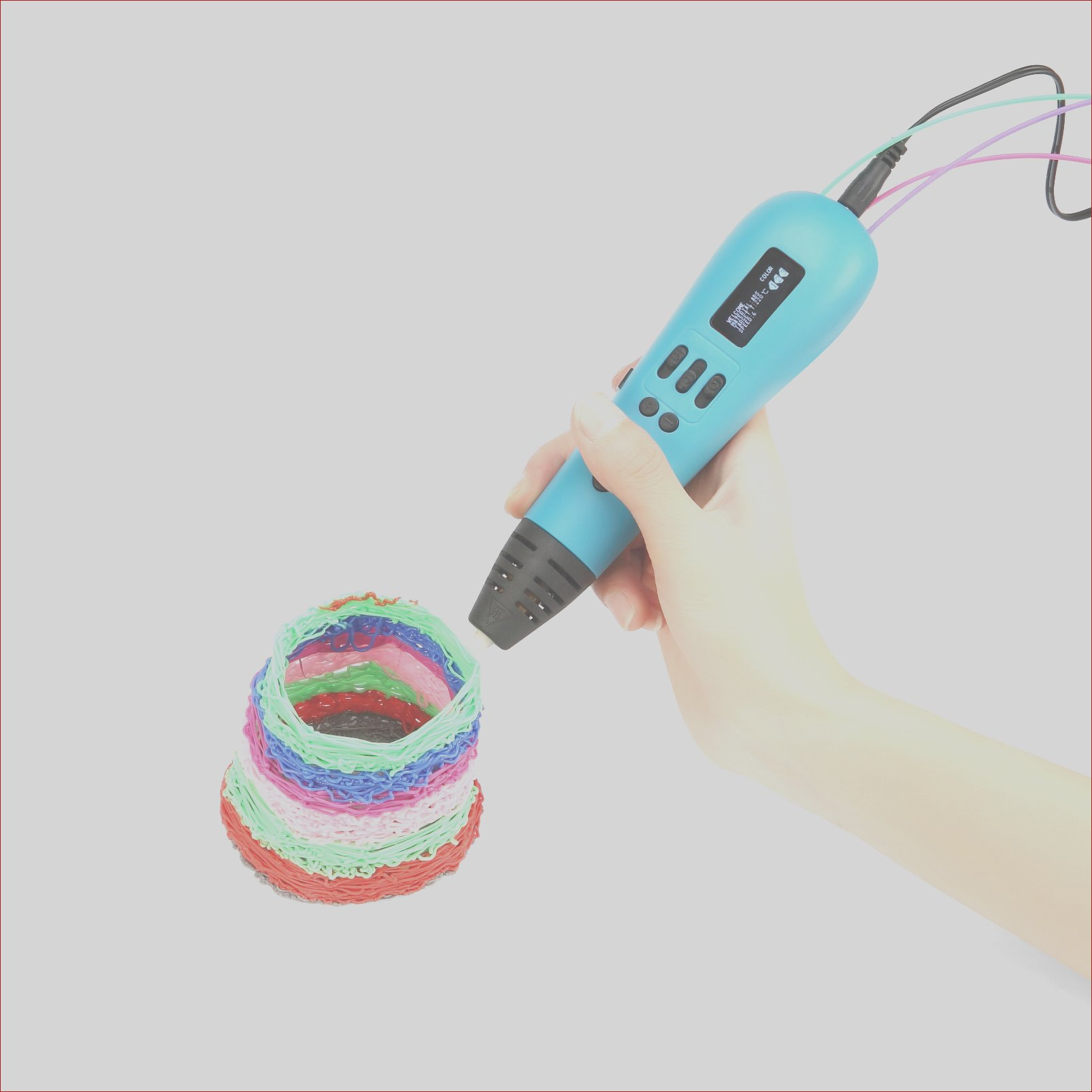 worlds 1st multi color 3d printing pen