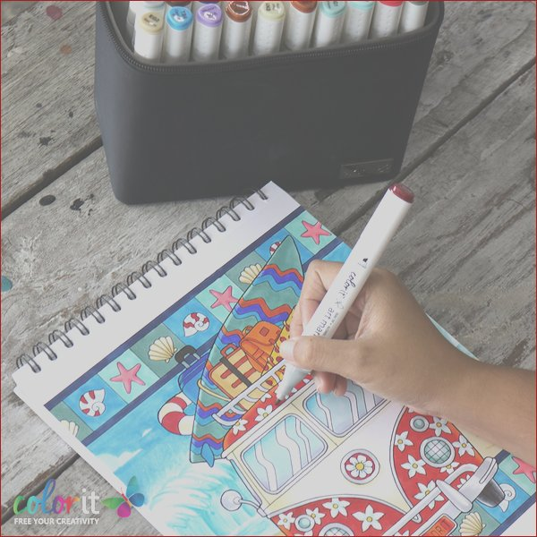 what are the best markers for adult coloring books