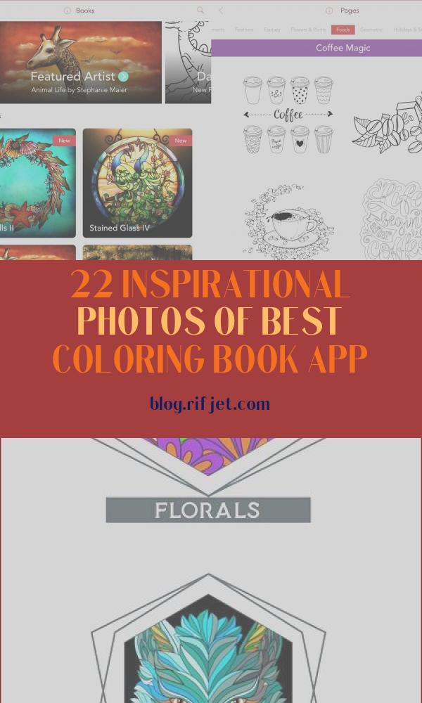 Best Coloring Book App Awesome Photos the 6 Best Coloring Apps for Adults for 2020