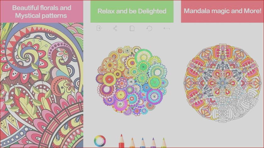 best adult coloring book apps android