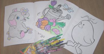 Coloring Books and Crayons Beautiful Photos How Big I M Blessed Coloring Books
