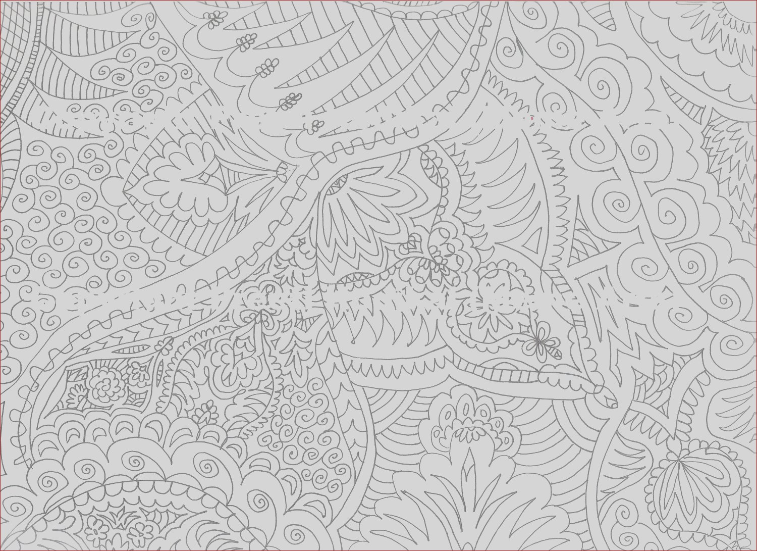 pen illustration printable coloring page