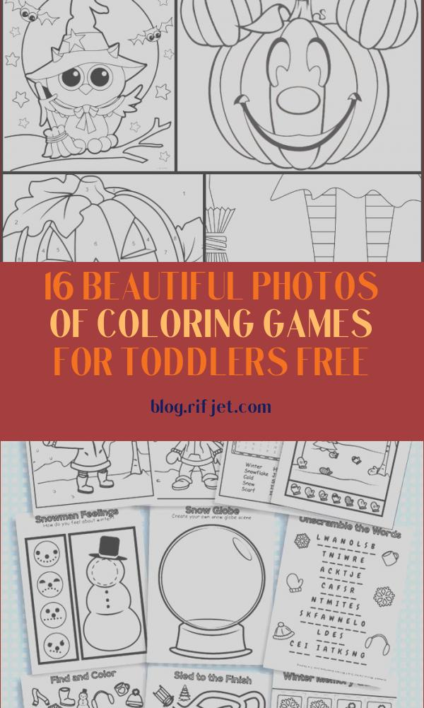 Coloring Games for toddlers Free Elegant Photos 200 Free Halloween Coloring Pages for Kids the Suburban Mom