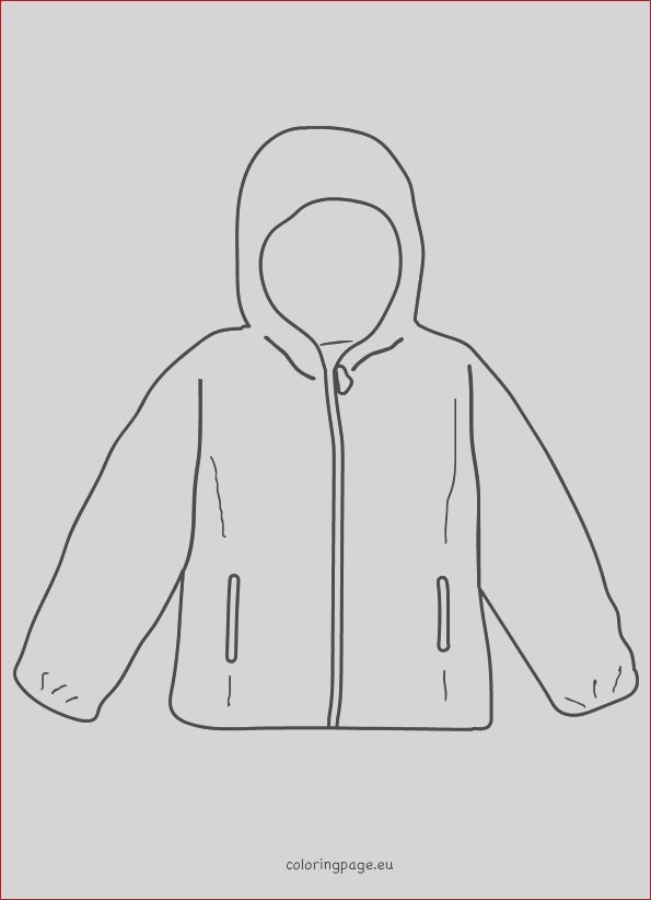 coat winter jacket template