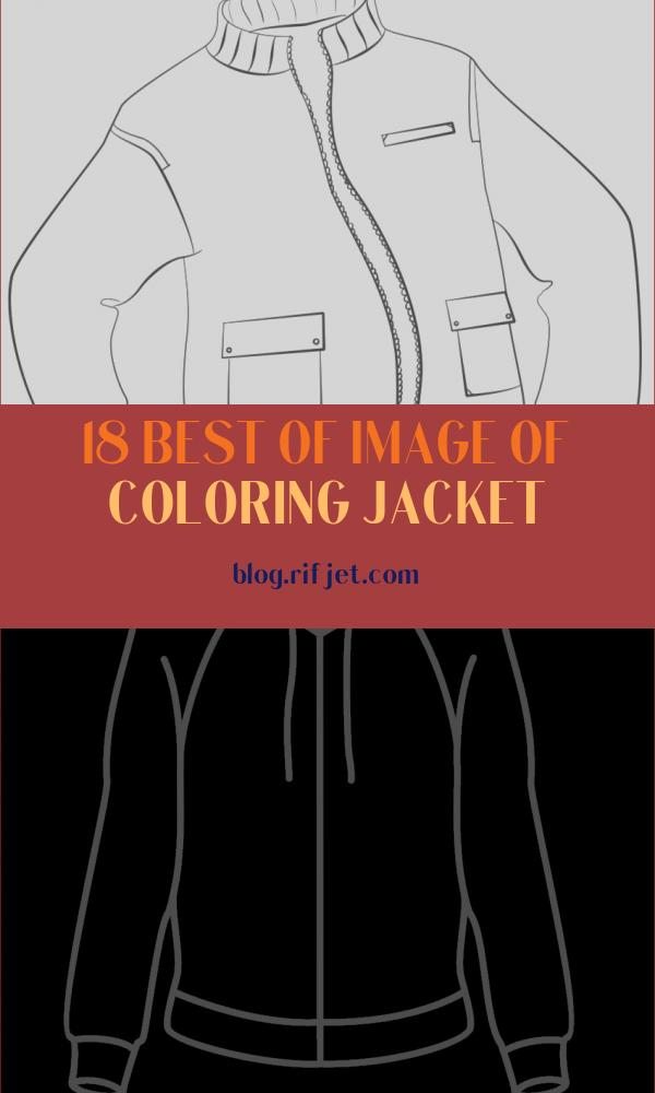 Coloring Jacket Unique Image Jacket Coloring Page