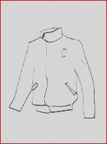 jacket coloring page to print out
