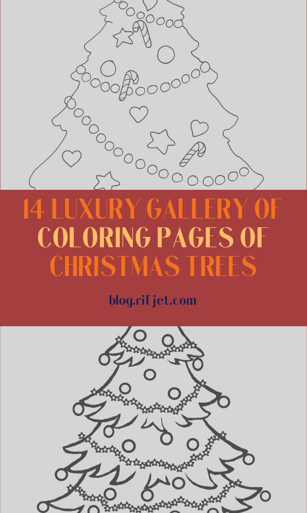 Coloring Pages Of Christmas Trees Elegant Stock Christmas Coloring Pages