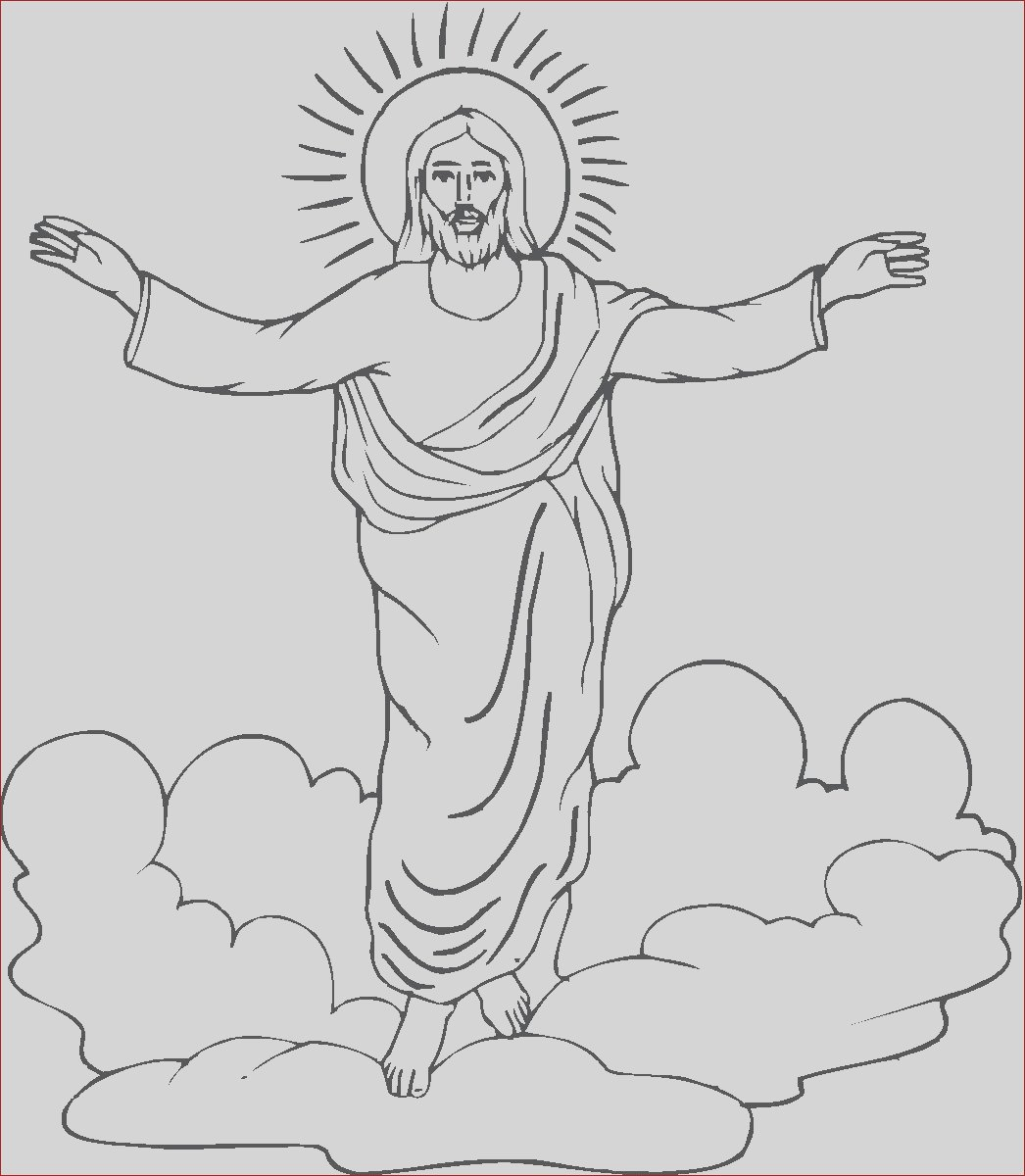 religious easter coloring picture
