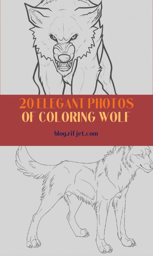 Coloring Wolf Inspirational Images Free Printable Wolf Coloring Pages for Kids