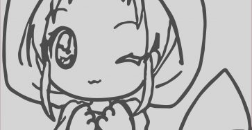Cute Anime Coloring Pages Beautiful Gallery Cute Coloring Pages Best Coloring Pages for Kids