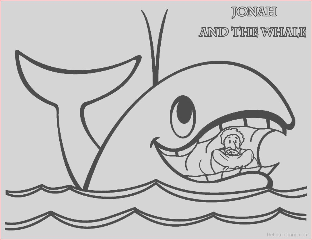 jonah and the whale coloring pages jonah in whales mouth