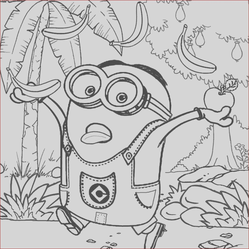 kids costume minion coloring pages