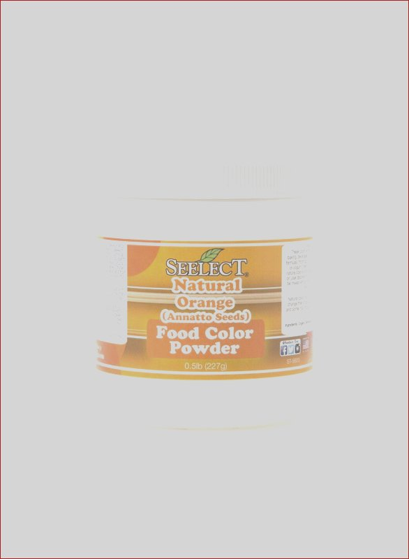 orange food coloring powder natural made with annatto seeds
