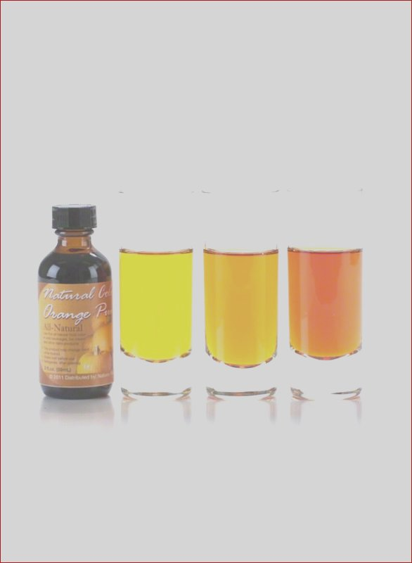 pumpkin orange food coloring natural made with edible flowers