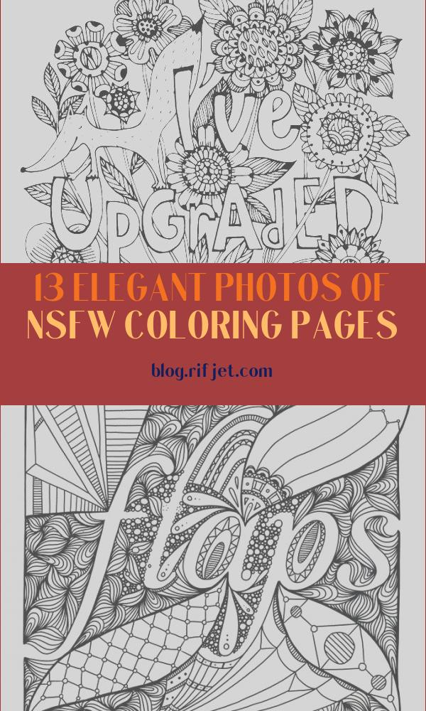 Nsfw Coloring Pages Awesome Stock This Nsfw Coloring Book Will Make You for All About