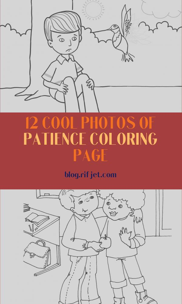 Patience Coloring Page Luxury Photos Coloring Books
